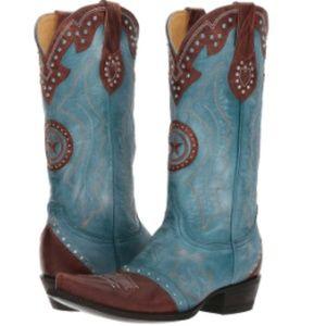 Old Gringo Grafton Blue Western Cowboy Boots